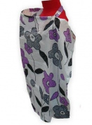 Palm and Pond Breastfeeding Cover - Purple/Grey Floral Standard
