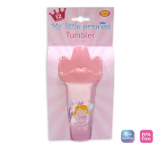My Little Princess Pink Plastic Drink Tumbler - 280ML 9.5oz - 12 Months +
