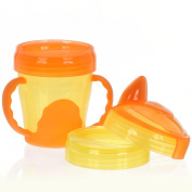 Vital Innovations My First 3-Step 492070 Drinking Cup 220 ml Orange