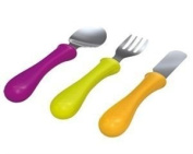 Set of 3 Stainless Steel Cutlery - Gipsy Colours