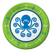 Pack of 8 Ocean Boy Small Plates