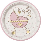 A Baby Joy Pink Pack of Small Plates