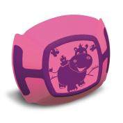 Plastorex 80 8481 A4 Children's Plate Dual-Material Fuchsia Purple