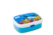 Rosti Mepal Animal Planet 107670065319 Lunch Box Medium-Sized with Dolphin Theme