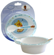 "Spel 004624 Babies' Crockery Set 2 Pieces ""Winnie the Pooh"" Theme Blue"
