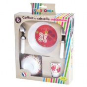 Plastorex 70 0935 52 Child's Tableware Set Melamine