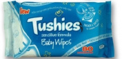 TUSHIES BABYWIPES SENSITIVE 80