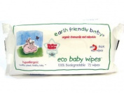 Earth Friendly Baby Eco Baby Wipes 72 Wipes