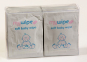 MYWIPE Ultra Soft PH Balance Baby Wipes Single Travel Sachets x 20