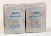 MYWIPE Ultra Soft PH Balance Baby Wipes Single Travel Sachets x 20