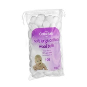 Cottontails Large Cotton Wool Balls - Pack of 100