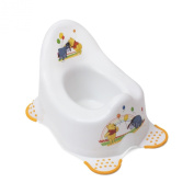 Plastorex 8670 Night-Time Potty with Non-Sleep Feet White with Winnie the Pooh Motif