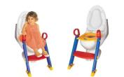 Baby Toddler Potty Training Toilet Ladder Seat Steps