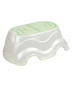 Mamas & Papas - Acqua Step Up Stool - Pearl White/Soft Lime