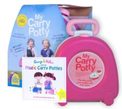 My Carry Potty Pink Boxed with free Potty Training Book