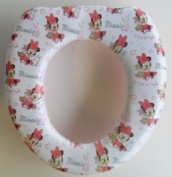 Disney Minnie Mouse Toilet Seat for Potty/Toilet Training Padded Seat for Loo