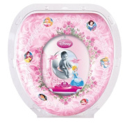 DISNEY PRINCESS KIDS PADDED TOILET SEAT POTTY TRAINING