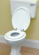 Family Toilet Seat in White
