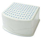 Tippitoes Step up Stool - White/Blue