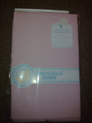 100% COTTON FLANNELETTE CRIB OR CRADLE SHEETS (PAIR) PINK