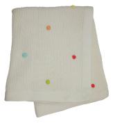 Lollipop Lane Tiddly Wink Safari Knitted Pram Blanket