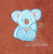 BabyMatex - Fleece Blanket with Belt Slots for Car Seat