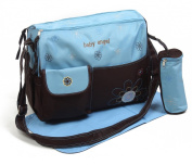 3pcs Baby Angel Diaper Nappy Changing Bags in BLUE