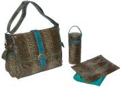 Kalencom Fashion Nappy Bag, Changing Bag, Nappy Bag, Mommy Bag, Laminated Buckle Bag