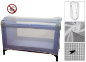 Mammoth XT Large Insect Net - For Baby Cots, Travel Cots & Playpens
