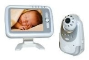 E-THOS 5.6 INCH SCREEN VIDEO BABY/FAMILY MONITORING WIRELESS SYSTEM