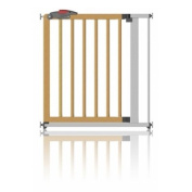 Clippasafe Pressure Fit Gate - Metal and Wood 71-80.5cm