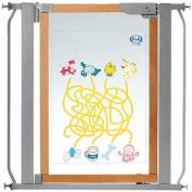 Pali 73 x 85cm Ludoor Safety Gate with Silkscreen Panel