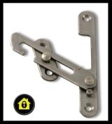 UPVC Window Restrictor Hook. Child Lock Restrictor Safety Catch