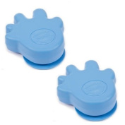 Happy Hands Door Stopper 2 Pack - Blue
