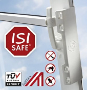 ISI SAFE - Child Safety Device for Windows - no drilling or bonding!