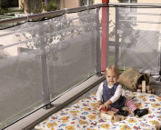 Reer balcony protection mesh 90x300