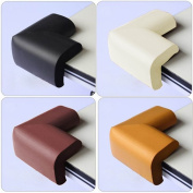 4 x Baby Safety Corner Protection Edge Cushions - Desk Table Cover Protector Safe For Child