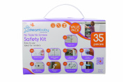 Dreambaby No Tools No Screws Safety Kit Uk - Value Pack 35pcs