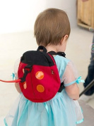 Baby Toddler Safety Harness Backpack Strap Walker Reins Ladybird Design -- Safety pin with