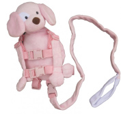 Goldbug - 2-in-1 Harness Buddy - Pink Puppy