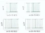 Brevi Safety Gate Extension Gate Securella 15