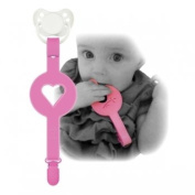 XPLORY Paciplay Teether and Soother Clip