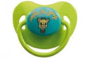 2 PACK Sophie The Giraffe Glow Soothers Dummies 6-18 M