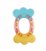 BPA Free Eco Corn and Silicone Baby Teether - Candy