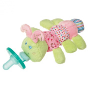 Mary Meyer Wubbanub Plush Pacifier Toy, Cutsie Caterpillar