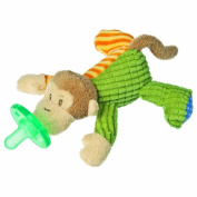 Wubbanub Plush Pacifier Toy, Mango Monkey