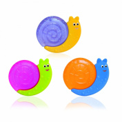 Mebby Water Filled Teething Ring Snail Shape