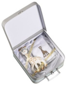 Vulli 516344 Teething Ring Gift Set with Soft Toy Sophie the Giraffe