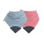 Cheeky Chompers Neckerchew Top Selling Stripes Multipack