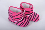 Style Nuvo Beautiful Girls Crib Baby Shoes Boots Warm Fleece Lined Animal Prints